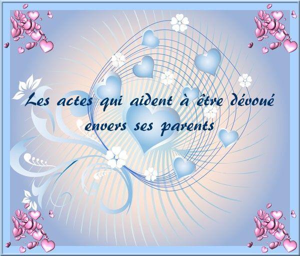 Le respect envers ses parents - citation respect des parents