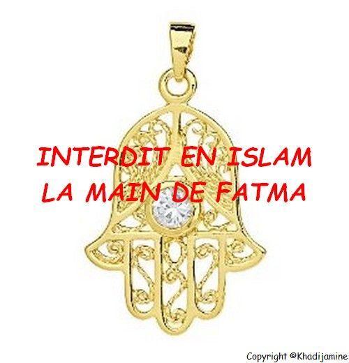 La main de fatma interdit en islam - Bougie main de fatma ...